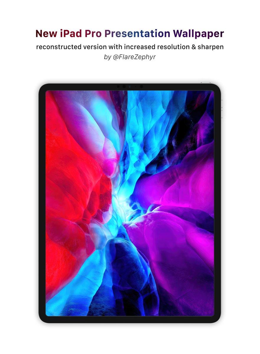 新型ipad Proの壁紙が公開 Iphoneやipadにも設定可能 グノシー