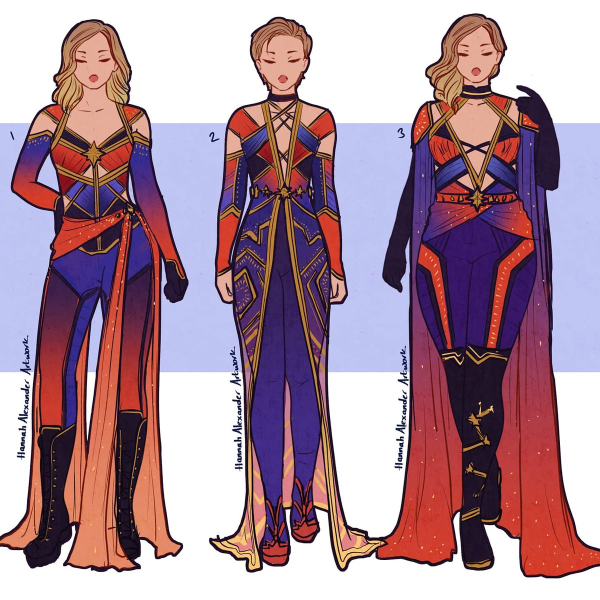 Hannah Alexander Artwork On Twitter Captain Marvel Couture Design Sketches Let Me Know Which One You Like Best Captainmarvel Ezt a játékot tartalmazó csomagok. hannah alexander artwork on twitter