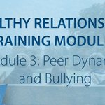Image for the Tweet beginning: Module 3 of PREVNet's Healthy