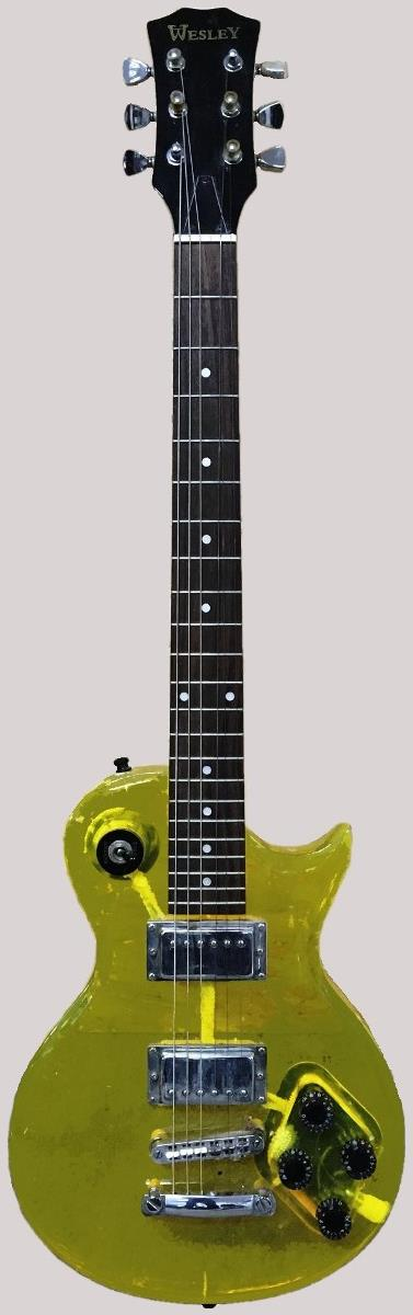 chinese wesley plastic acrylic Guitar at Ukulele Corner