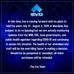 格闘ゲームの世界大会EVO2020の開催が危ぶまれる!
