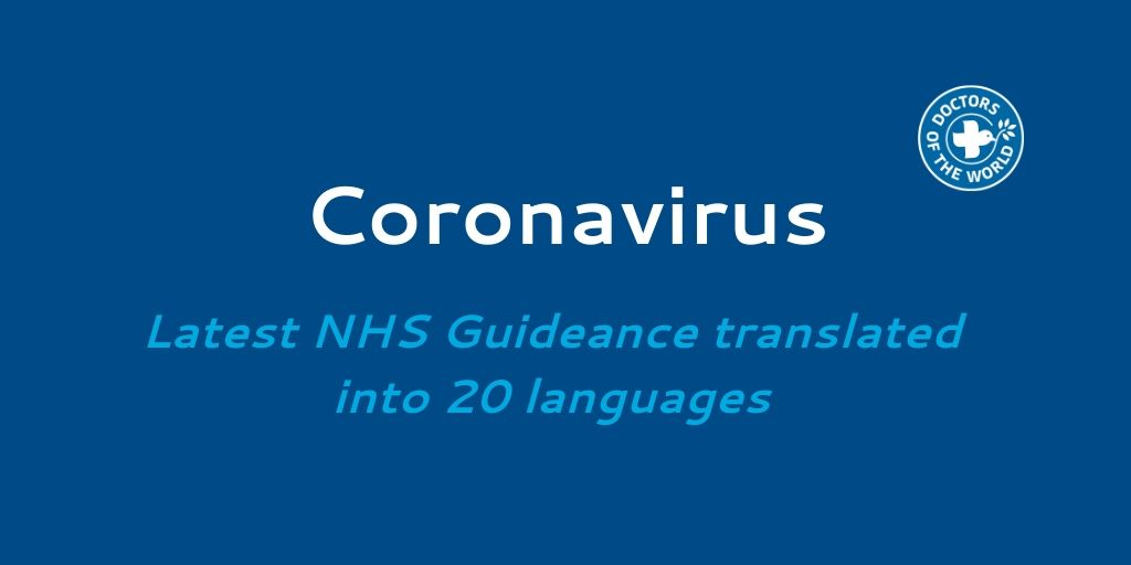 Thread - LATEST #NHS #Coronavirus Guidelines (16th March update) – updated and new languages  Batch 1 - English, Albanian, Arabic, French, Portuguese, Polish, Romanian, Russian, Spanish, and Turkish Find them here: https://t.co/hn5dxpcNbr https://t.co/J0K2GPP24R