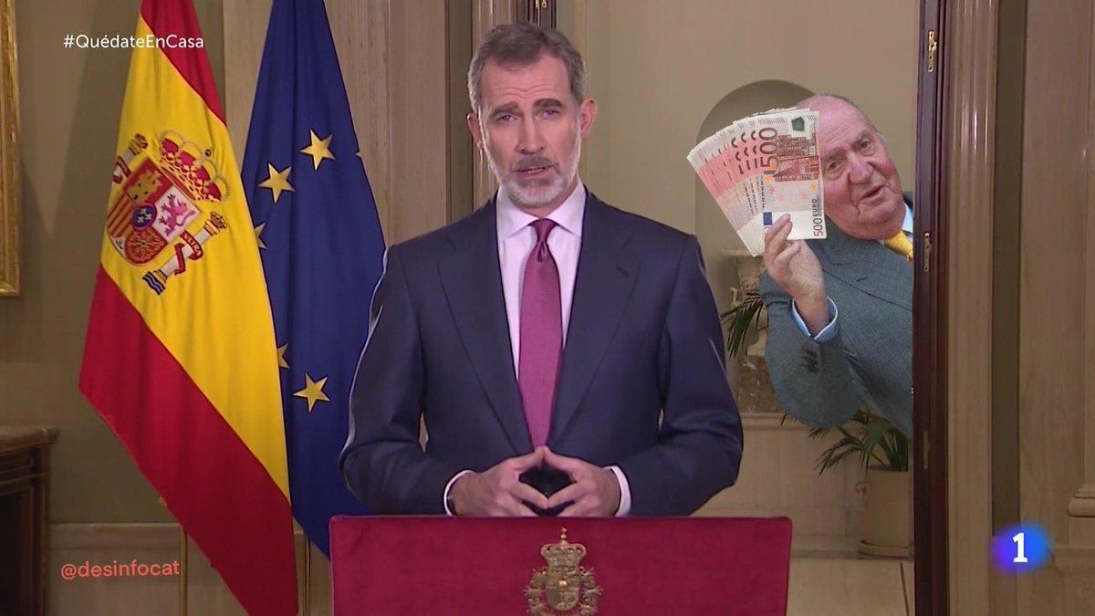 """Felipe VI: """"Ahora no es momento de mirar atrás"""""""