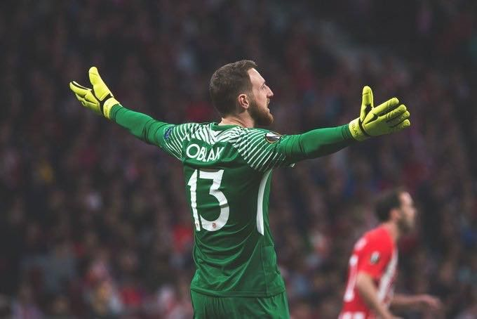 Since joining Atletico Madrid in 2014, Jan Oblak has faced 537 shots on target. 🎯  During that time he has saved 431 of those! 😮👏🏻 https://t.co/w1WVDEHbsS
