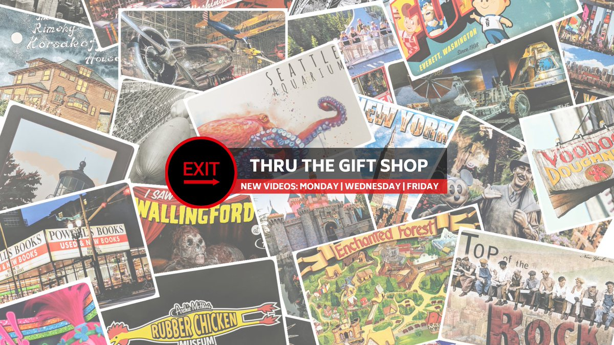 Stuck at home? We have tons of theme park & attraction videos to help satisfy your travel bug!  EXIT THRU THE GIFT SHOP http://www.youtube.com/exitthruthegiftshop…  Please subscribe!  #touristday #TravelSomeDay #touristythings #touristlife #touristattractions #travelpic #travelmore #traveladdictpic.twitter.com/iDtmDL3zmm