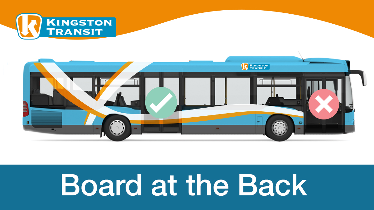 test Twitter Media - Board at the back to protect your bus operator! From March 19-April 5, please board and exit buses using the back doors. If you have accessibility needs, please continue using the front doors. Operators will not be collecting fares at this time. https://t.co/LtrxwE12cn https://t.co/M4zqSIz7Bh