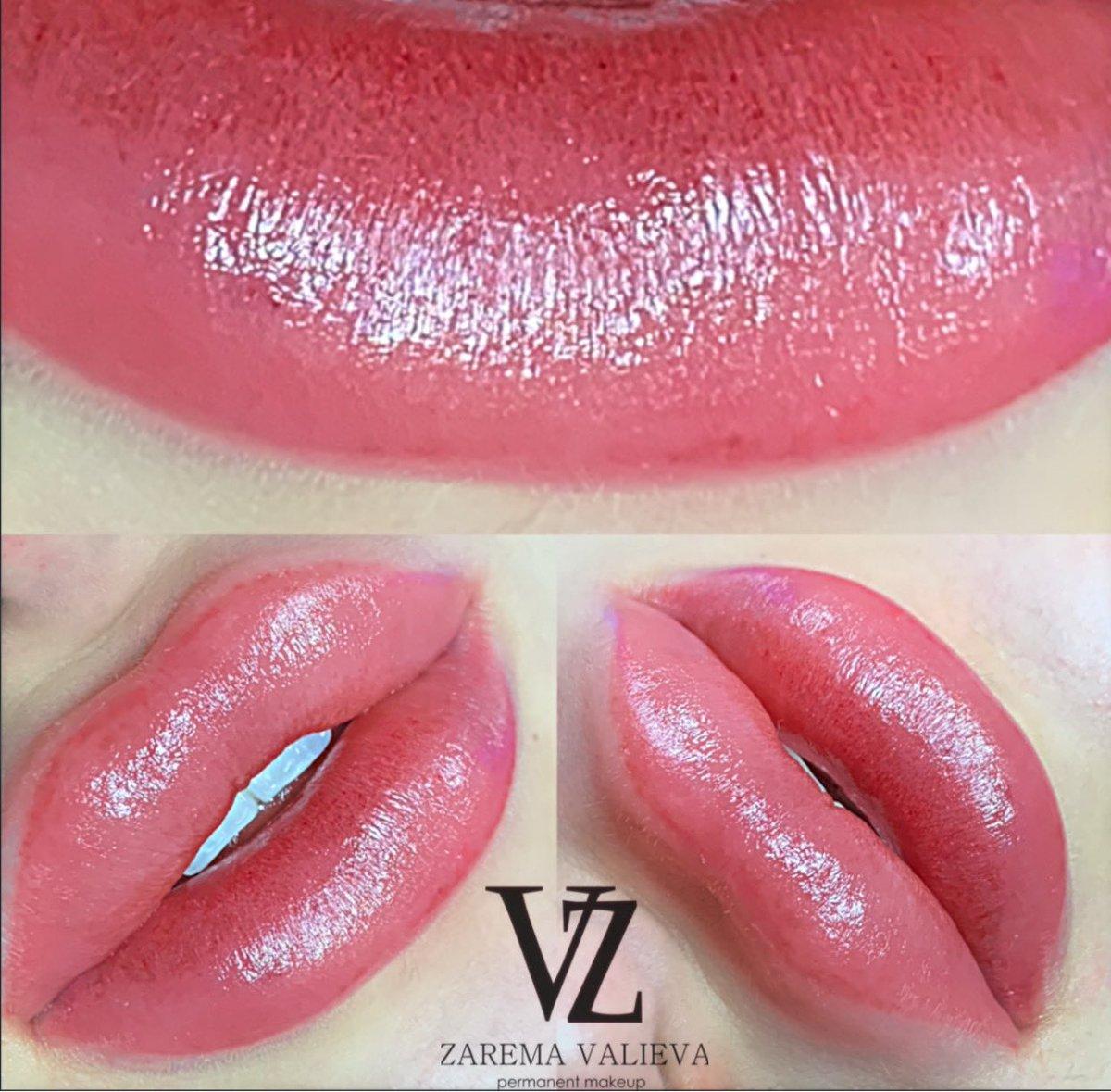 Перманентный макияж губ сразу после процедуры ! @brows_design_zara   Запись в Директе в инстограмм !  Акварельная бесконтрольная Техника. #заремавалиева #пмгуб #татуажгубмосква #татуажгубмахачкалаpic.twitter.com/sZCsm44OTk
