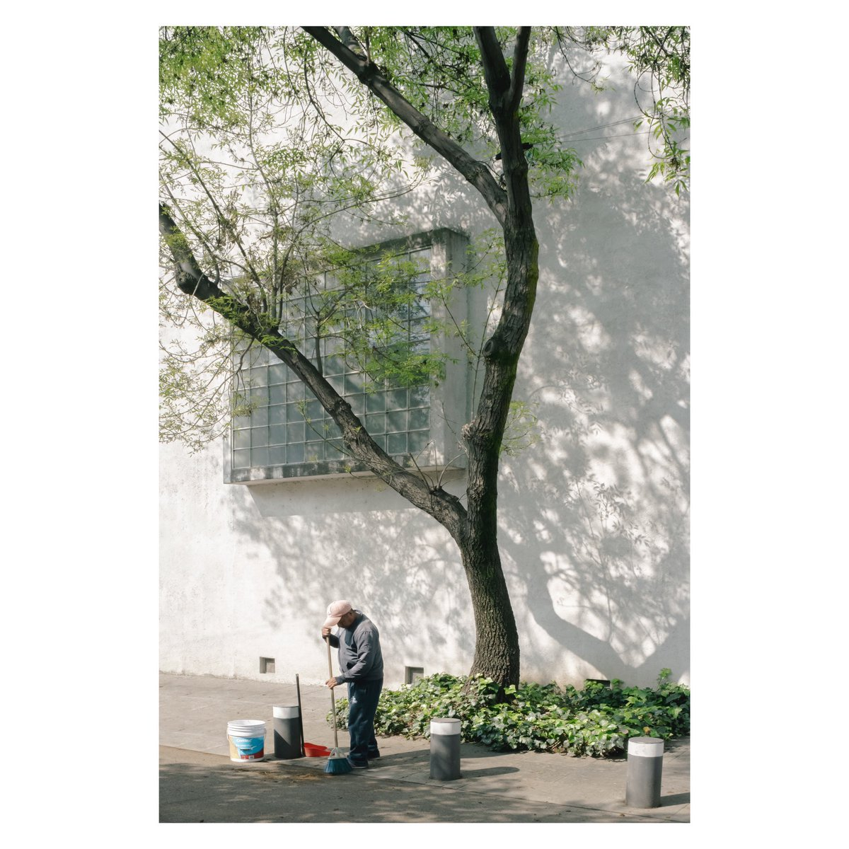 """#Stayhome and let the light come in.""   Casa Estudio Luis Barragàn | 1948 | Mexico City, MX  #LuisBarragàn #CasaEstudioLuisBarragàn #MexicanArchitecture pic.twitter.com/O1EUaIaPzd"