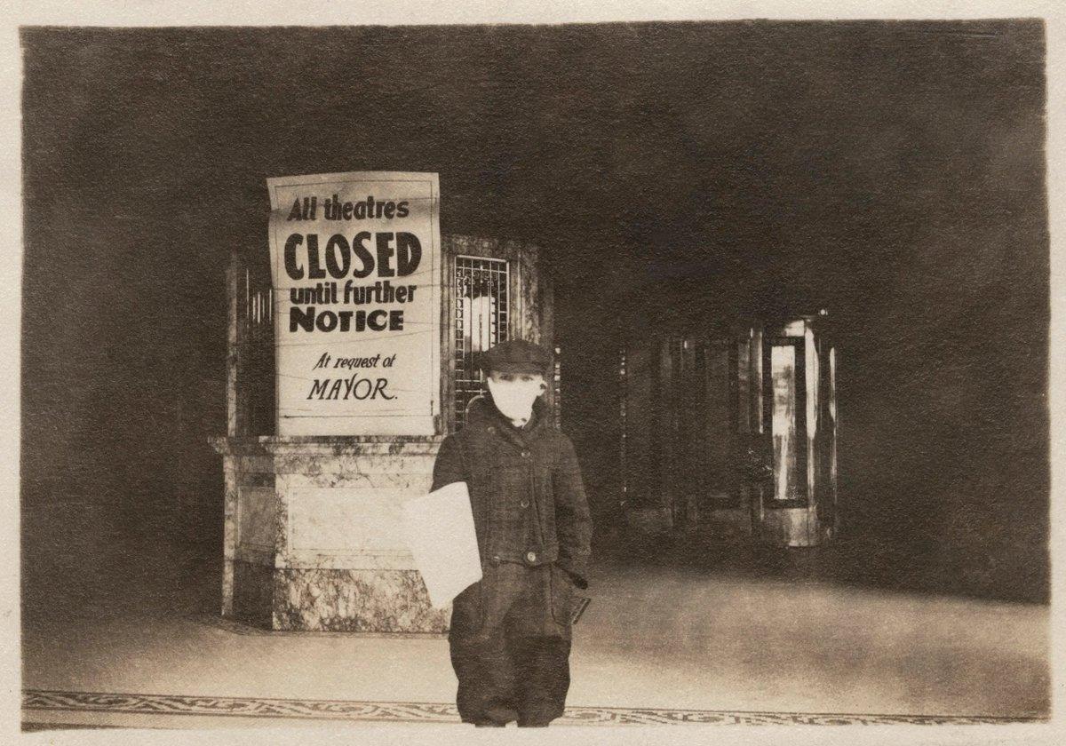 Social distancing c.1918