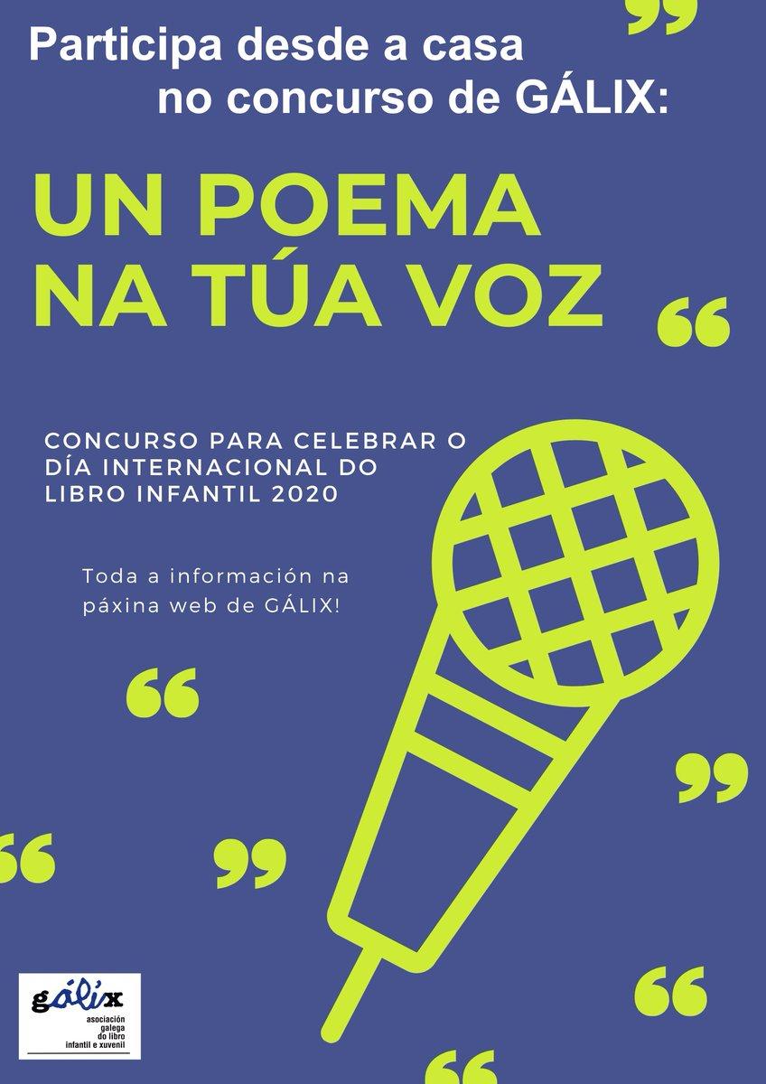 Resultado de imaxes para: galix concurso de poemas participa dende a casa