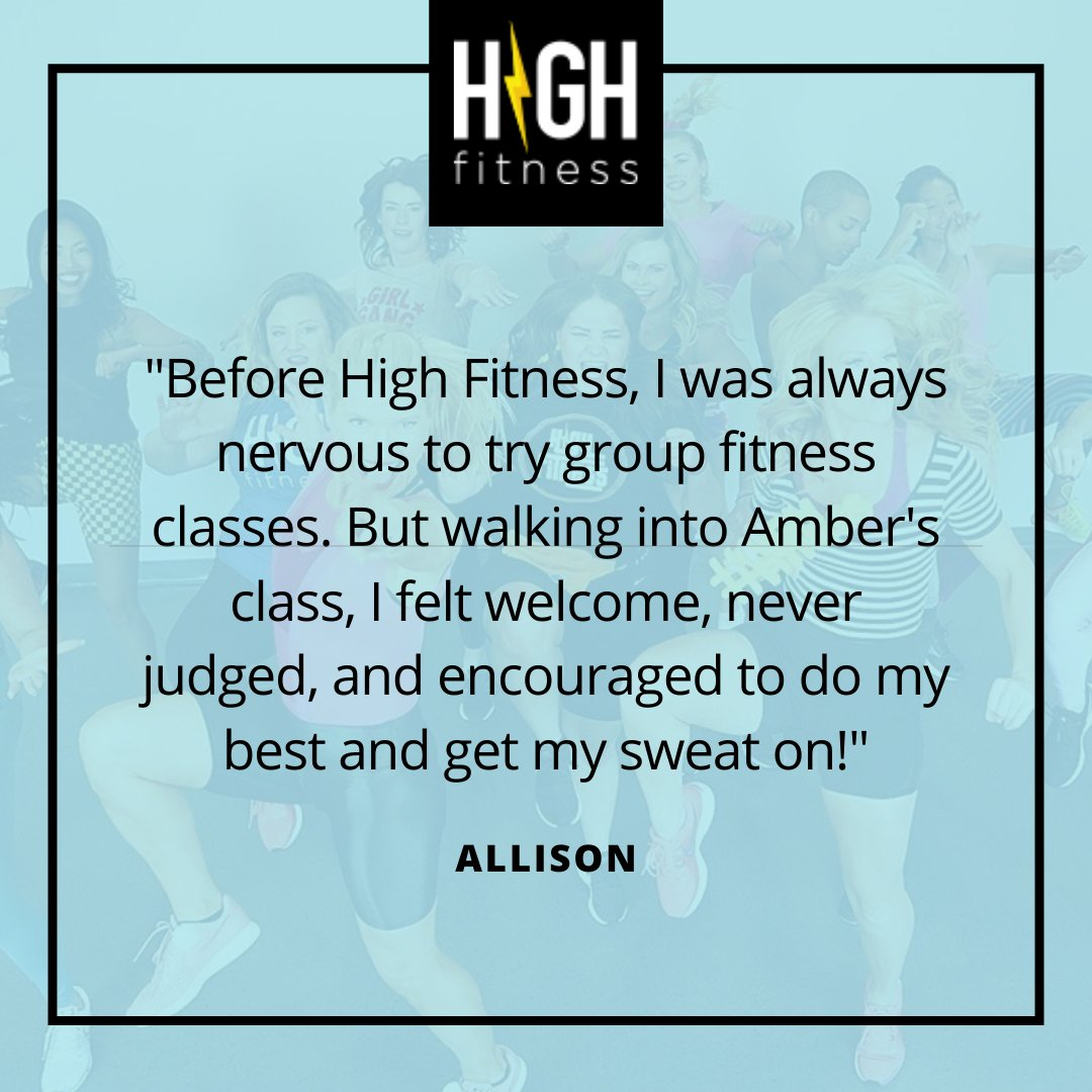 Try a class and become a part of the HIGH Fitness family today! #aerobicsisback #getitdonepic.twitter.com/K9l3pOMnYw