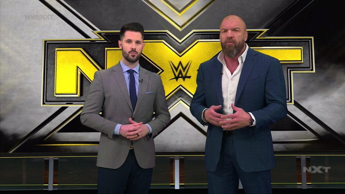 WWE NXT Report - Triple H And Tom Phillips Host From The WWE Performance Center