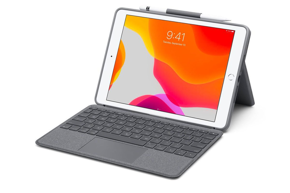 Logitech's iPad keyboard case with trackpad costs half as much as Apple's