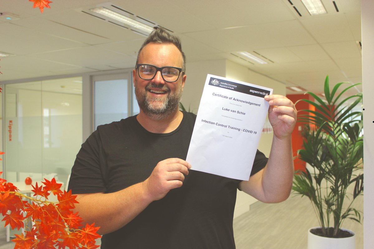 Well done to 1800 support workers on Mable who already completed COVID-19 training. And a special shoutout to Luke for always making us smile, even on the tough days.  Keep up the training everyone. https://t.co/BjsnyffHoZ