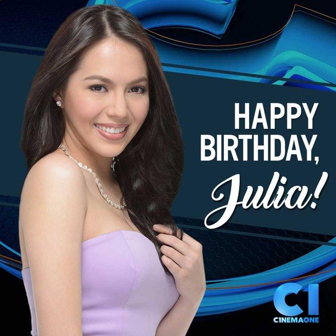 Happy birthday, Julia Montes (  From