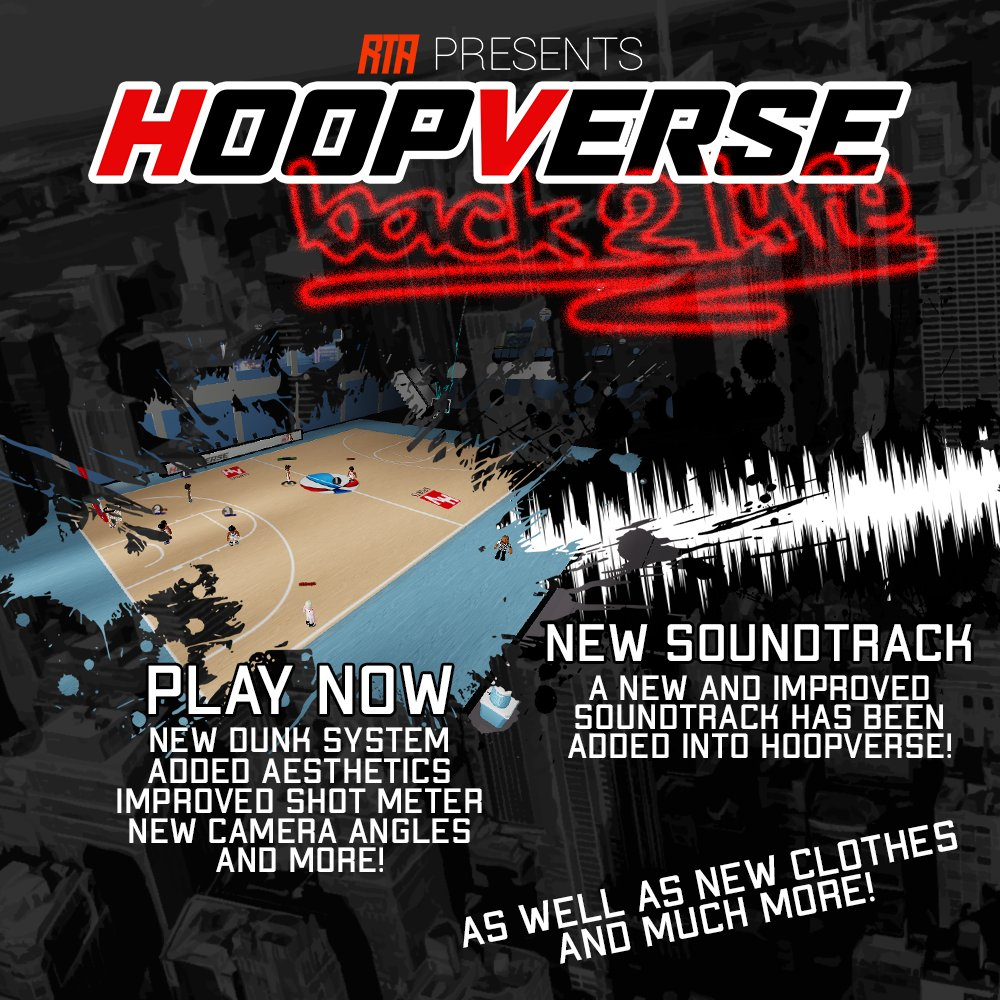Rta Media On Twitter Still Being Rolled Out Hoopverse Roblox