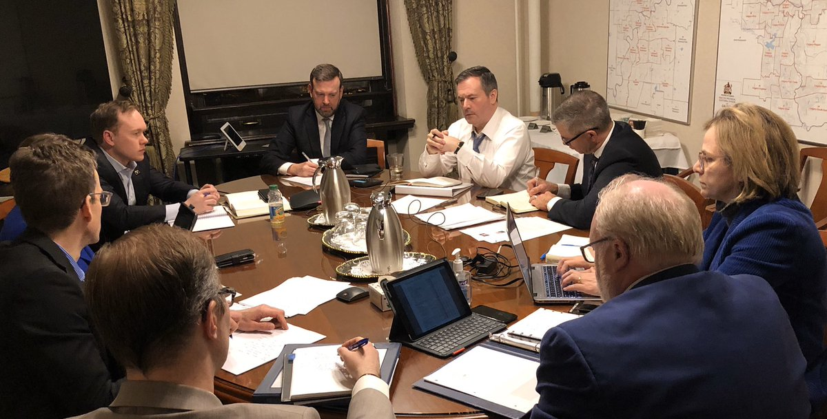 Pleased to be part of Alberta's  Economic Recovery Council working w #abgov to address the #COVID19 crisis. Anything we can do to help we will #ableg #abtrades