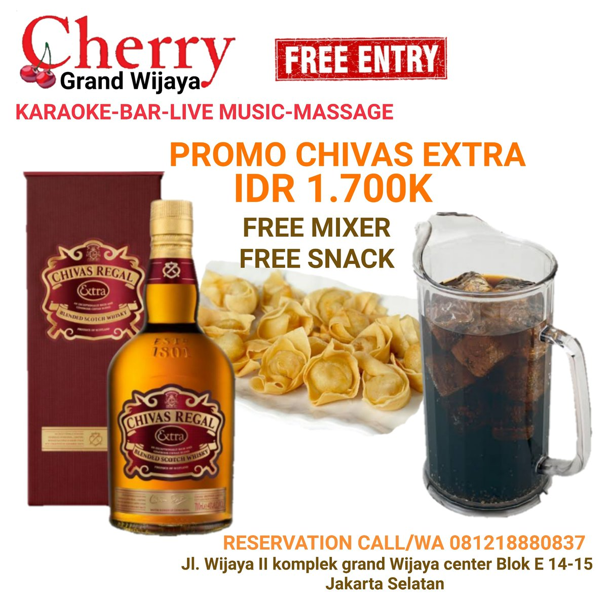 #KamisAmbyar #club #music #drink #ktv #nightlife #karaoke #sing #bar #lounge #livemusic #bintangbeer #massage #hangout #kopdar #kongkow #dance #dancefloor #topdj #Jakartanightlife #whiskey #vodca #cognag #vodcalovers #wine #party #event #celebrations
