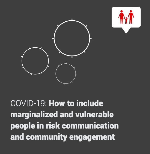 Guidance note on risk communication + practical engagement towards marginalised & vulnerable communities - very relevant to #FocusforRefugees #integration #MHPSSMatter #socialinclusion #covid19