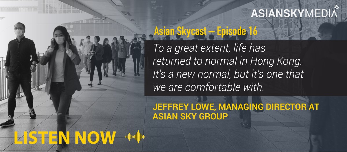 The latest podcast from Asian Sky Group, discussing the impact on businesses during #COVID-19, lessons to be learned from 9/11, SARS and the Global Financial Crisis and #HongKong returning to a new normal: https://t.co/P2uO3j4OhH  #bizav #avgeek #AsianSkyMedia #ASGFleetWeek https://t.co/hUoYElsNgM