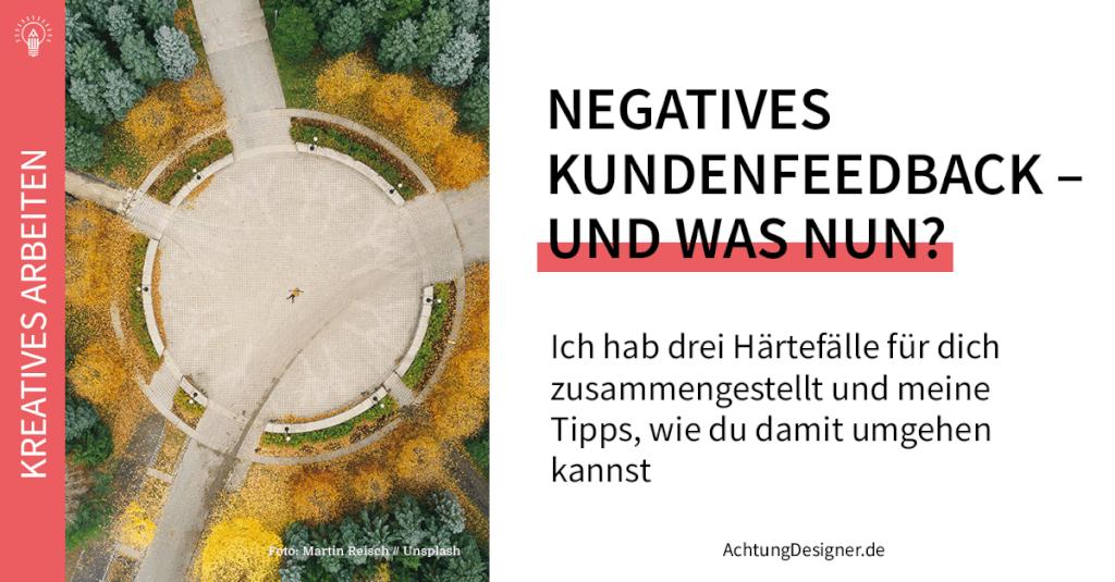 Negatives #Kundenfeedback –Und was nun? #selbstständigkeit #design #designbusiness http://chmp.ly/9RMpic.twitter.com/aaJ3ShkvZn
