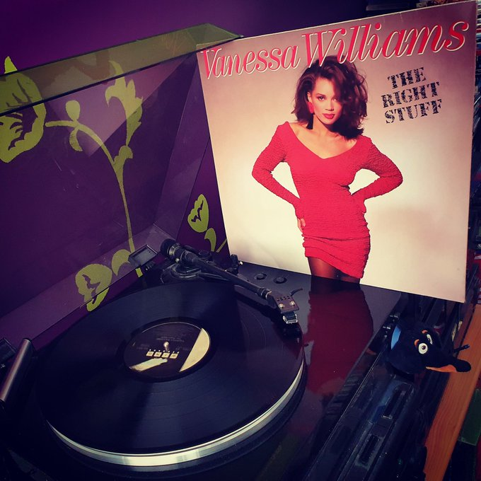 Happy Birthday Vanessa Williams *57*! The Right Stuff (Wing Records/Polygram/1988)