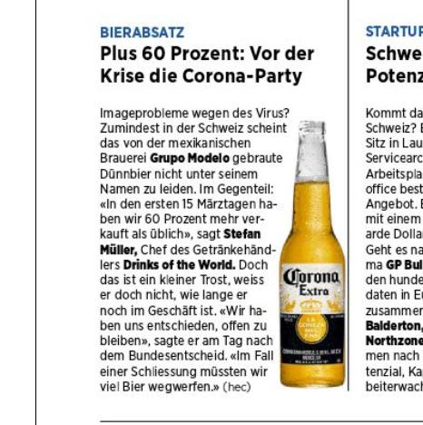 #CoronaParty
