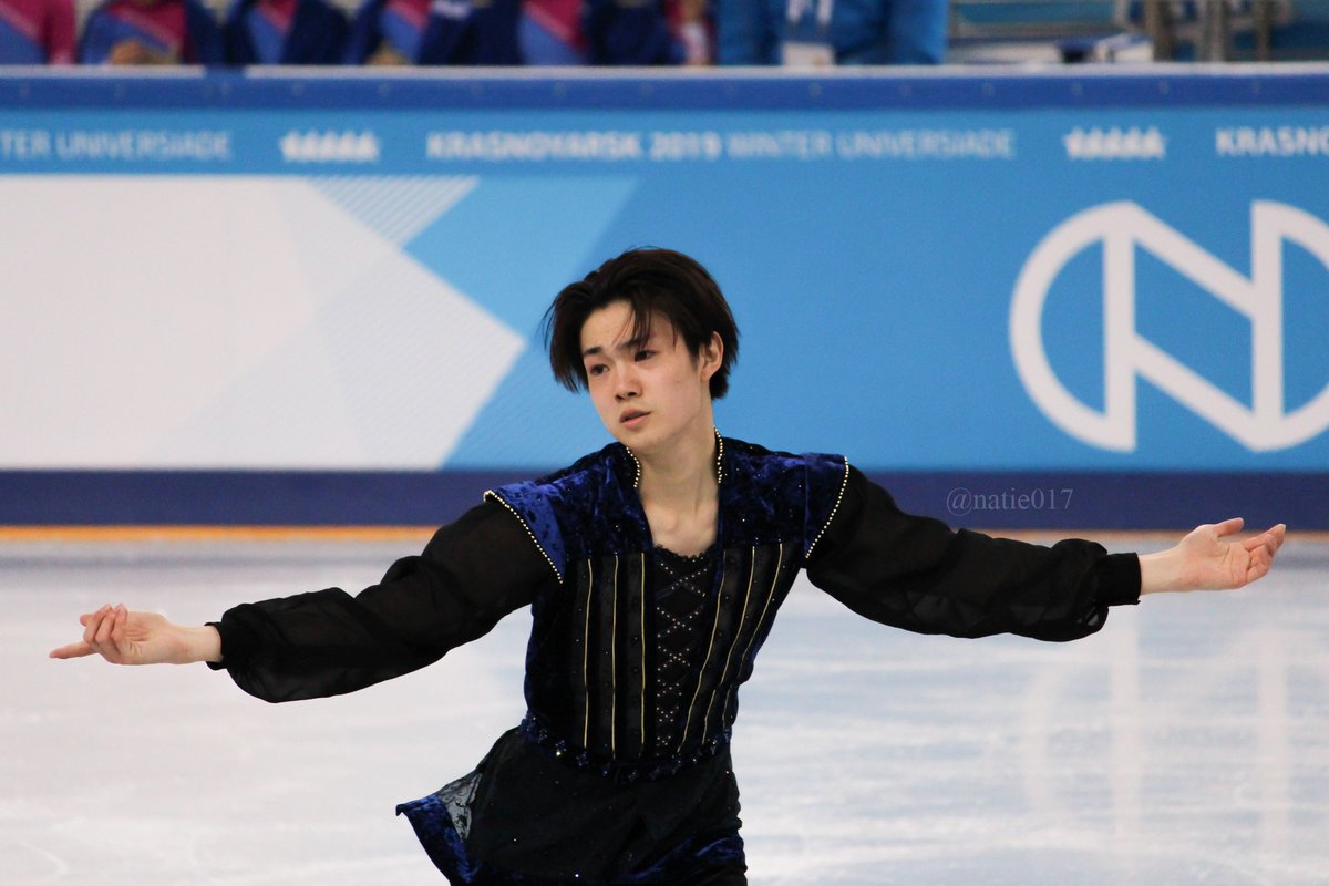 #ShuNakamura #Universiade2019 pic.twitter.com/FjqZn6wfte