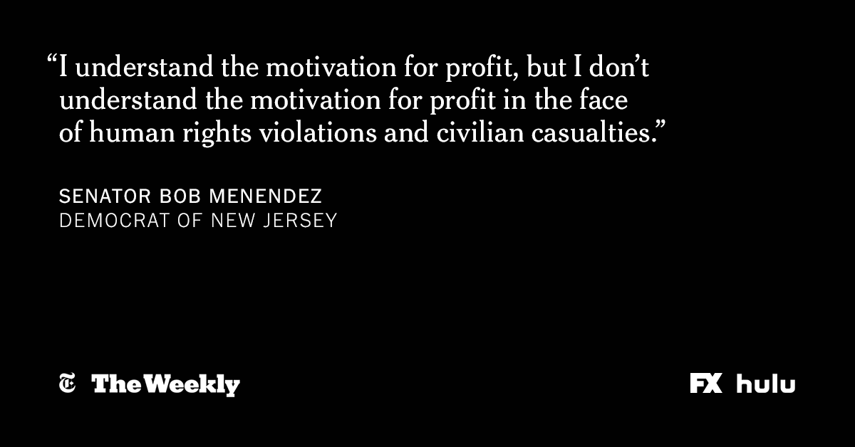 As Saudi Arabia pressed its war in Yemen, American defense contractors saw an opportunity to supply a strategic U.S. ally with sophisticated weapons. #TheWeeklyNYT investigates the human cost of the international arms trade, now streaming on @Hulu. https://nyti.ms/2IXIh9c