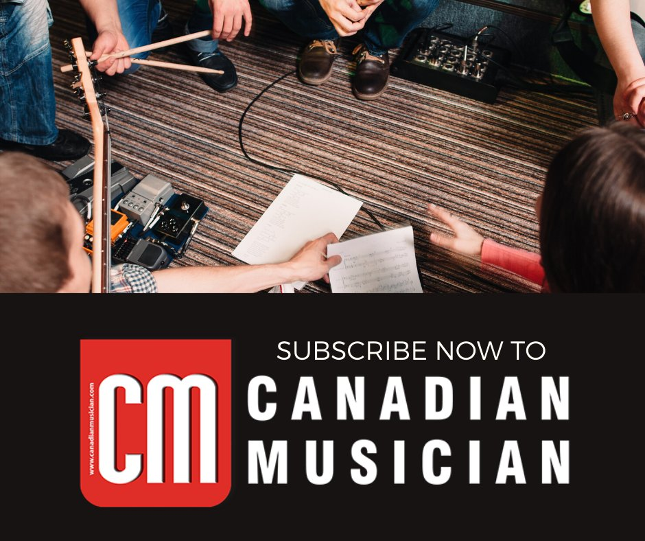 CM is offering our readers a Special 10% Discount off all our subscription prices for both New & Renewals!  Use coupon code CM10 at checkout and subscribe now! http://www.nwcmarket.com/cmsubs   #canadianmusician #canadianindustry #canadianmusicianshowcase #canadianartists #musicpic.twitter.com/xtMDsOHkh1