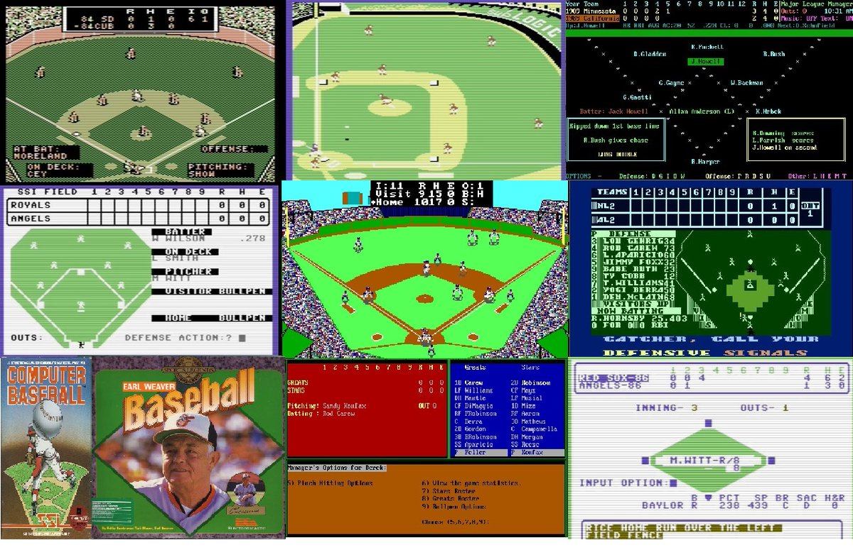 Retro Computer Baseball Game Reviews -  a series focusing on computer baseball simulations  https://t.co/2bj2TUYjsy  #amiga #apple #atari #commodore #ibm #macintosh #tandy #electronicArts #MicroLeague #LanceHaffner #SSI #AvalonHill #SubLogic #retrogaming #computer #simulation https://t.co/wdCqWzQoYt