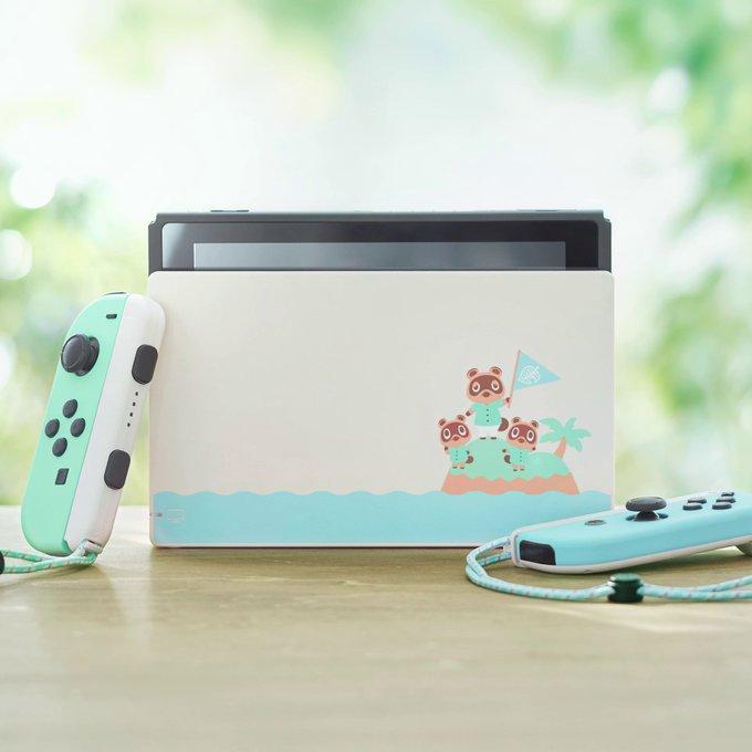 「Nintendo Switch あつまれ どうぶつの森 本体セット」の次回出荷は4月上旬を予定