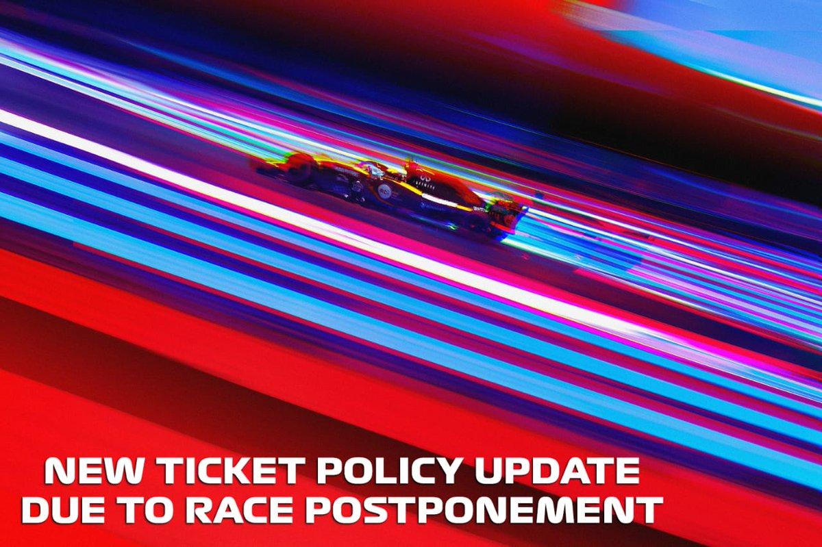 An update for all Formula 1 VinFast Vietnam Grand Prix 2020 ticket holders: https://t.co/A7SoAMarG2 https://t.co/iithKInpdq