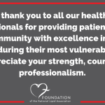 Image for the Tweet beginning: #ThankYouHealthcareProfessionals 💙 #PublicHealth #PublicHealthHeroes #COVID19