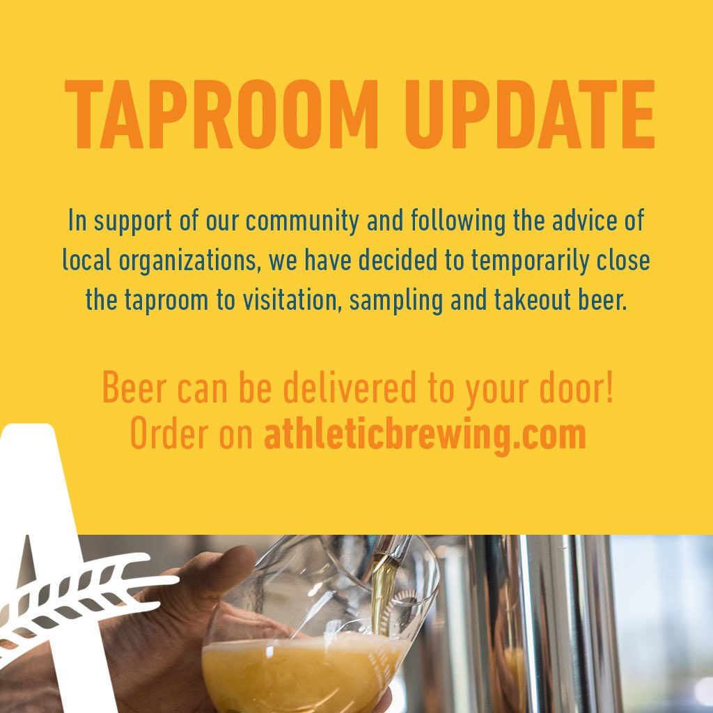Update for the community about our taproom