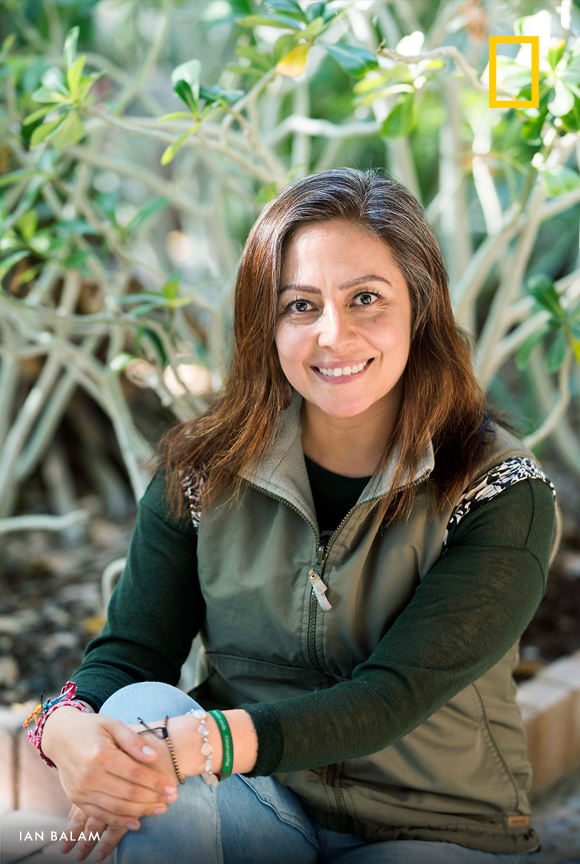 Biologist Liliana Gutiérrez Mariscal helped found an organization that invests in fishery restoration in Mexico and now works with female leaders to protect the ocean and uplift their coastal towns. #WHM2020 https://t.co/7U4NsRiRyY