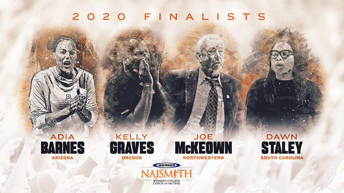 ➡️ The @wernerladderco Naismith women's COY 2020 finalists have been named. 👀  Who will take this year's 🏆?  #Naismith2020 | #WhosNext https://t.co/EjC2UIKRMh