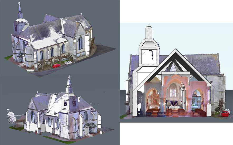 Learn how to create a #BIM model from a #pointcloud ⛪ in this 3 part series: https://t.co/6uwozHtTGM #3dmodeling #architecture #design #scaning https://t.co/ApcSyj1RGf