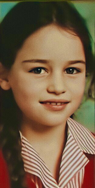 Baby emilia clarke Emilia Clarke