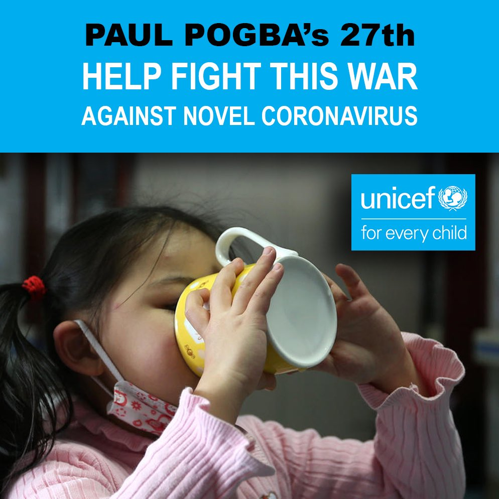 Help fight this war against #coronavirus! 💪🏾 @UNICEF @unicef_uk  https://t.co/mZ4UjbnM1r https://t.co/lI3MMuFDOo