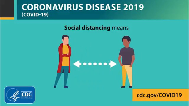 Practice social distancing by putting space between yourself and others. Continue to practice healthy habits, like washing your hands for at least 20 seconds and staying home if you're sick, to help slow the spread of #COVID19. Learn more: coronavirus.gov.