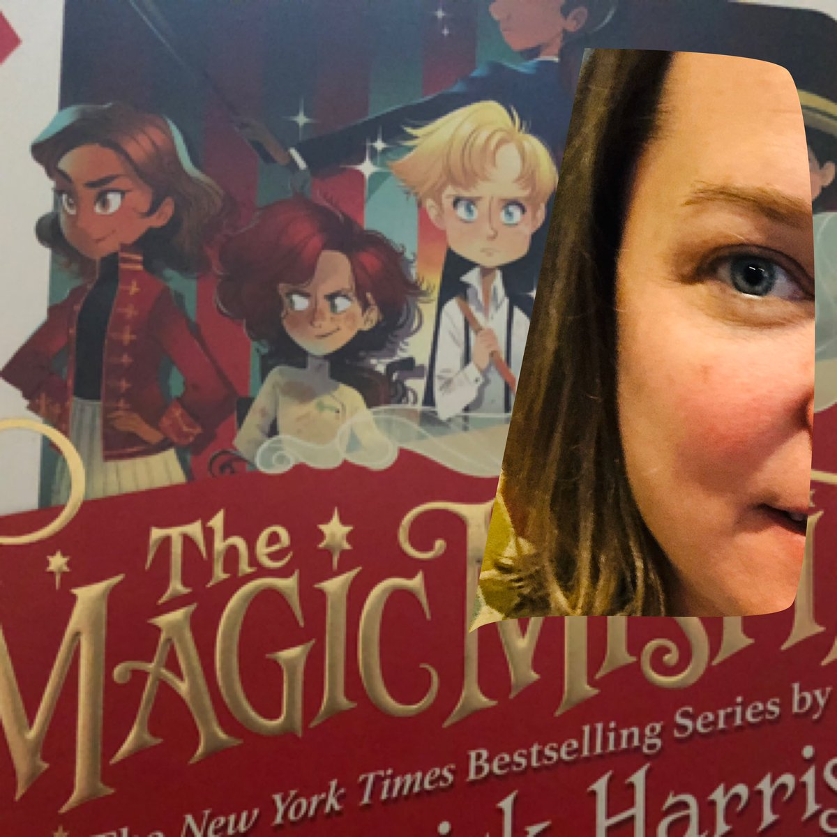 I joined the cover of #themagicmisfits today. #EHSreads2020 #flyeastern @ActuallyNPH @CarlaKent_1