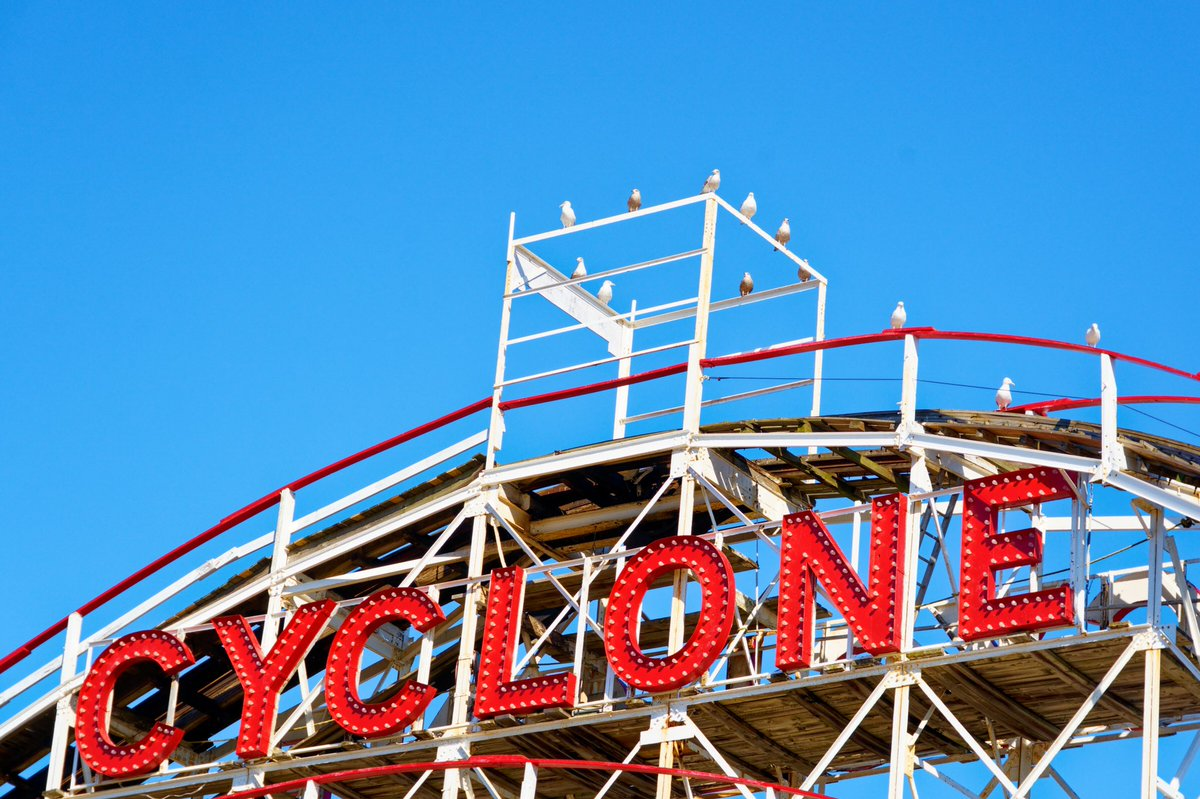 Coney Island Cyclone Thecyclone Twitter