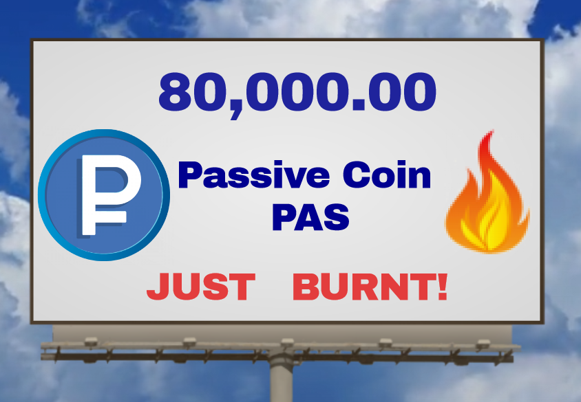 Passive Coin Big Burning Billboard
