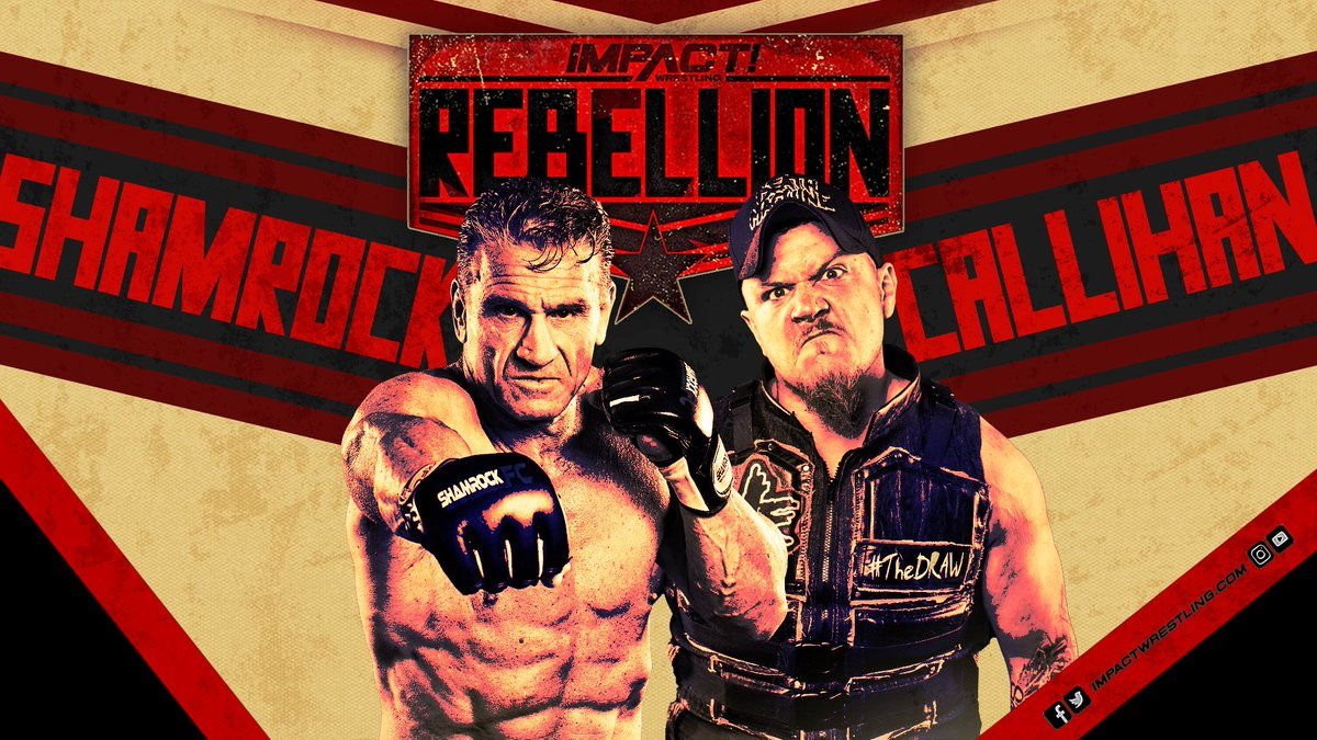 IMPACT Announces New Grudge Match For Their Upcoming Rebellion Pay Per View