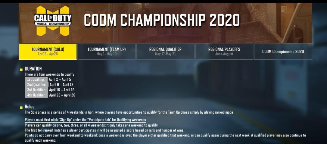 Call of Duty: Mobile filtración de esports oficial