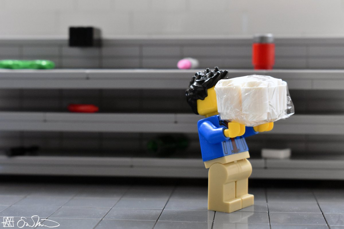 Grabbing a pack of toilet paper, the grad student clings to an utterly irrational source of comfort in the midst of extraordinary uncertainty. https://t.co/cyt766fZKA