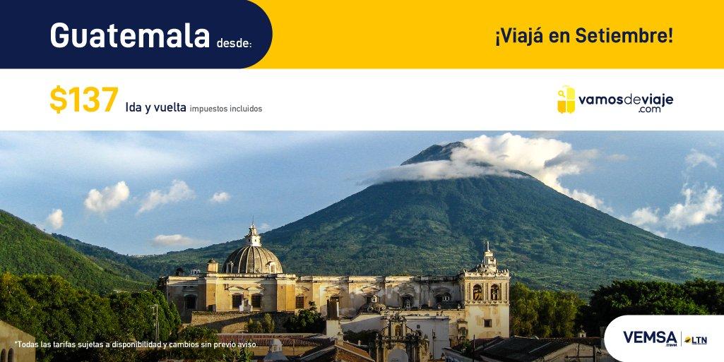 ¡Aprovecha estas increíbles tarifas para vuelos en Septiembre 2020! Cuídate hoy para que puedas viajar mañana.  Ciudad de Guatemala desde $137. #YoViajoDespues  https://t.co/4oM2tc2HJU https://t.co/BlUZKr4CDx
