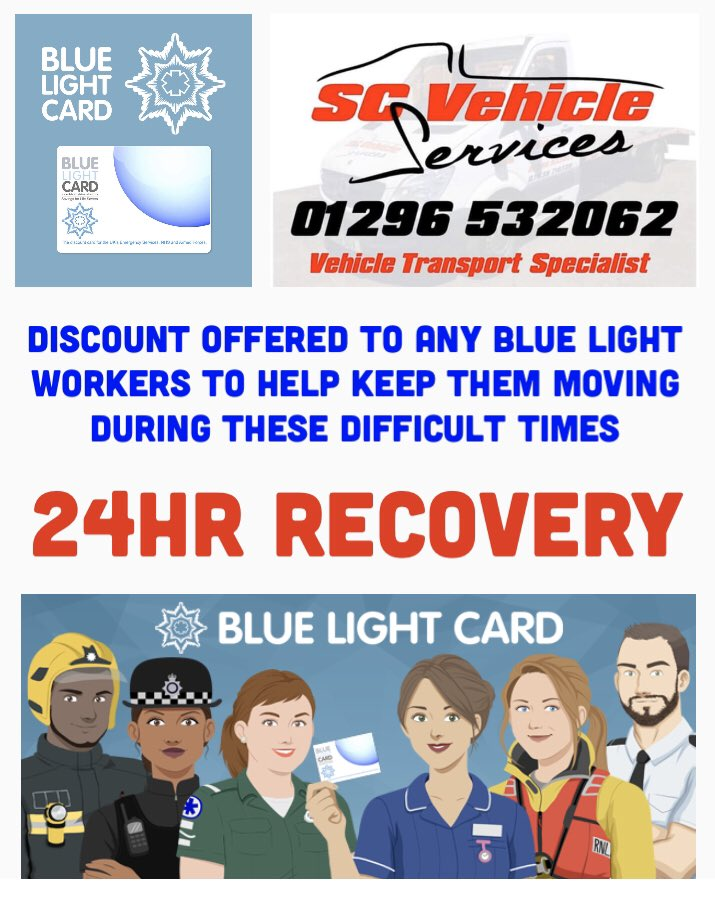 During this difficult time we are offering a discount to any blue light workers who need our recovery services to keep them moving #supportlocal #bluelight #vehiclerecovery #aylesbury #buckinghamshire #Breakdown #recovery #StaySafe #helpingothers #StandTogether #Aylesburypic.twitter.com/zQYOkXtlFb