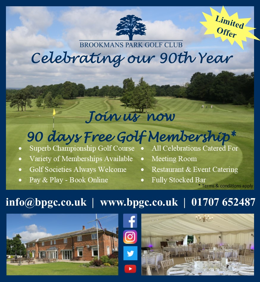 Register your interest to receive a 25% off Green Fee voucher  #giveaway #golfclub #golfshot #hertsgolf #golfswing #golfing #golf #golfer #golfcourse #golflife #instagolf #pga #golfaddict #golfpro #golfislife #golftips #brookmanspark #hertfordshiregolf #brookmansparkgolfclub pic.twitter.com/MIicKFzwkS